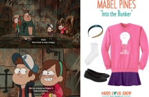 Easy Gravity Falls Mabel Costume