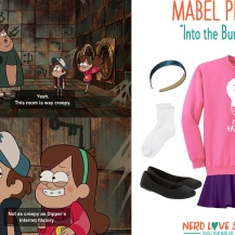 Easy Gravity Falls Mabel Costume