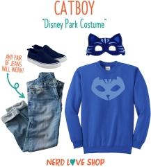 PJ Mask's Quick Catboy Costume