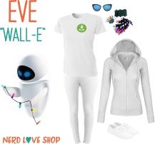 WALL-E's EVE Easy Costume